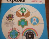 Worlds to Explore, Handbook for Brownie and Junior Girl Scouts, copyright 1977