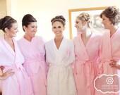 Monogram Bridesmaid Robe / Waffle Robe / Monogram Bridesmaid Gifts / Getting Ready Robes / Wedding Party Robe / Bridal Party Robe