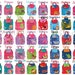 Monogrammed Stephen Joseph Quilted Backpack / Children and Toddler Backpack / Personalized / Choose from 40 Patterns / Boys and Girls