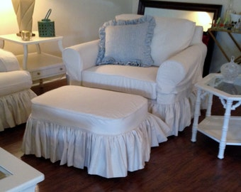 Chair And A Half Custom Made Slipcover By Lharmondesign On