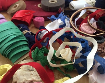 Vintage Ribbon And Sewing Notions