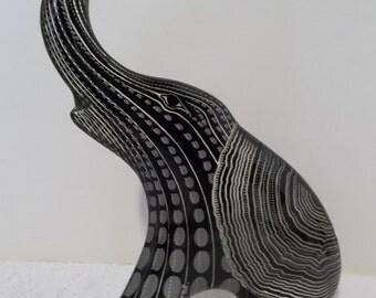 Vintage Abraham Palatnik 9+ inch ELEPHANT Lucite Acrylic Sculpture Figurine 848
