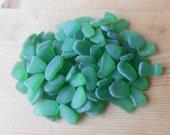 SALE Bulk genuine sea glass, 200 grams sea glass,shade of green sea glass,for jewelry,crafting,mosaic,home decor    SG67