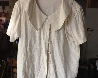 1950's Smock Style Blouse