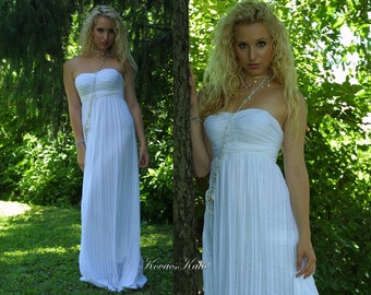 Ethereal Grecian Goddess Wedding Gown - Helena