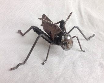 Scrap Metal Grasshopper
