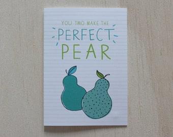 Perfet Pear | Greeting Card