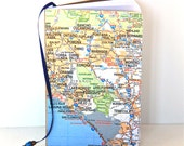 Custom Map Journal Mini Notebook Travel Notebook Sketchbook Choose Your Own Map