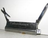 1960's Veterinary Medicine Pocket Knife, Vintage Medical Farm Supplies, The Non-Explosive Ether