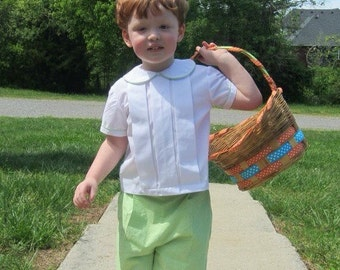 Boy's heirloom Easter outfit
