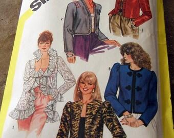 Simplicity 5793 vintage uncut size 12 womans jacket