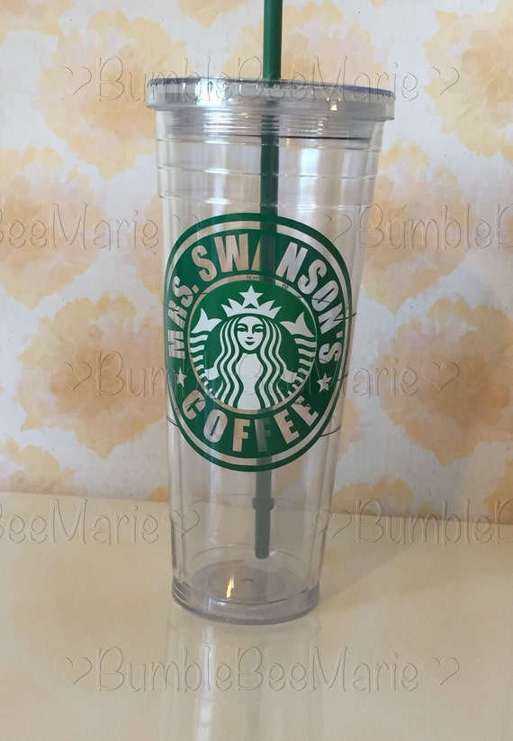 Starbucks tumbler personalized with any name or by for Starbucks personalized tumbler template