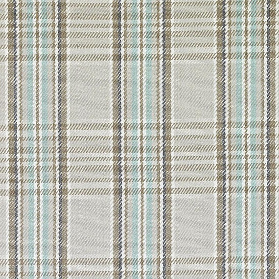 aqua green large scale plaid upholstery fabric for furniture light grey stripe modern aqua. Black Bedroom Furniture Sets. Home Design Ideas