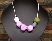 Silicone Teething and Nursing Necklace - Maya