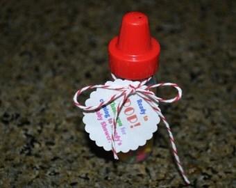 Baby Shower Favors // Shower Favors // Baby Bottle Favors // Shower Favor // Baby Bottle // Set of 24