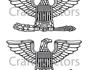 Us army insignia | Etsy