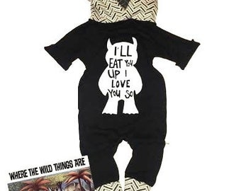 Where the Wild Things Are romper