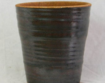Vintage Iridescent Pottery Planter