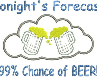 Tonight's Forecast...99% Chance of Beer