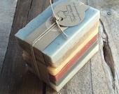 Soap Sampler Set - Soap Ends, All Natural soap, Handmade soap, Cold Process soap, essential oil soap, vegan soap