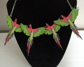 Pretty Parrot Necklace
