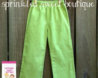 SALE Ready To Ship Boys Corduroy Pants Perfect for Fall Thanksgiving Christmas Cute Matches Applique Shirts