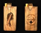 Dugout - Custom Woodburned Sports - ANY TEAM