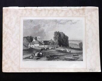 Trotter London C1839 Antique Print. London