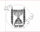 "RESERVED Rivka Sari Ph.D  2.5"" Laser Cut and Engraved Stamps You Design your own stamp on Rubber"