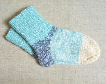 Men's Hand knit Wool Socks very THICK and warm