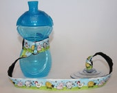 Sippy Cup Leash, Sippy Cup Strap, Baby Bottle Holder, New Baby Gift, Christmas Gift - Farm Animals