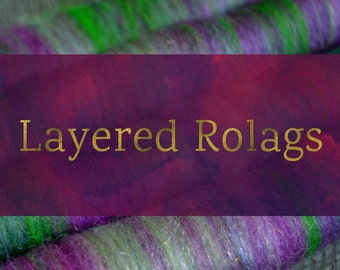 How To Blend Layered Rolags - Blending Board Tutorial - Textured Art Rolag or Smooth Traditional Rolags Spinning Fiber Tutorial