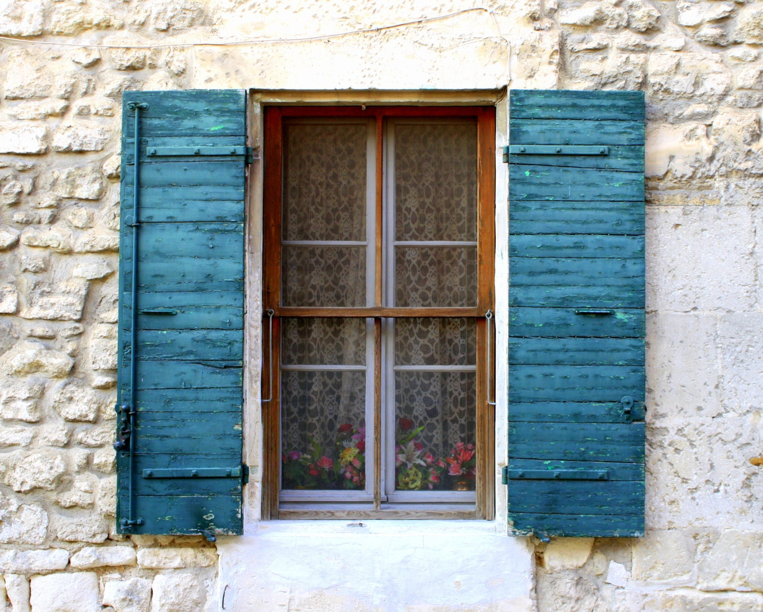 Provence france country french decor distressed shutters for French country windows