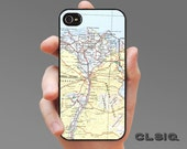 Vintage Cairo Egypt Map Case for iPhone 6/6S, 6+/6S+, 5/5S, 5C, 4/4S, iPod Gen 5, Samsung Galaxy S6, Galaxy S5, Galaxy S4, Galaxy S3