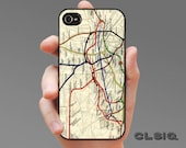 London England 1908 Metro Map Case for iPhone 6/6S, 6+/6S+, 5/5S, 5C, 4/4S, iPod Gen 5, Samsung Galaxy S6, Galaxy S5, Galaxy S4, Galaxy S3