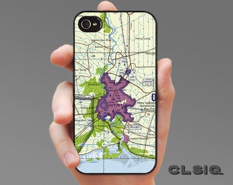 Bangkok Thailand Topo Map Case for iPhone 6/6S, 6+/6S+, 5/5S, 5C, 4/4S, iPod Gen 5, Samsung Galaxy S6, Galaxy S5, Galaxy S4, Galaxy S3