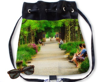 BOHO Backpack Purse Kenyon College Gambier Ohio Middle Path
