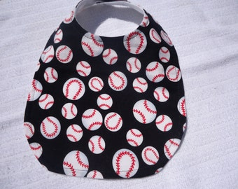 Baseball Bib for your little one.  Match it up with the diaper cover. Longer length