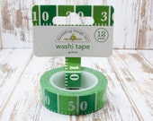 Washi Tape Trendy Tape Doodlebug Designs Decorative Fancy Tape Football Gridiron embellishment Packaging Tape - 12 yards