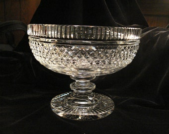Waterford Castletown Footed Centerpiece or Fruit Bowl, 7.25""