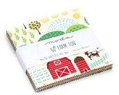 NEW - Farm Fun Charm Pack by Stacy Iest Hsu for Moda