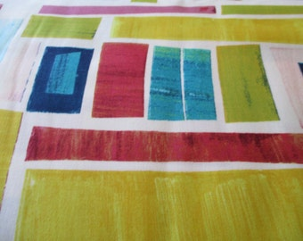 Quilting Weight Cotton Fabric Collage by Michael Miller in multi colors 1 yard