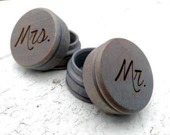 Wedding Ring Box, Wedding Ring Pillow, Personalized Wooden Ring Pillow, Wedding Ring Box, Ring Bearer Pillow