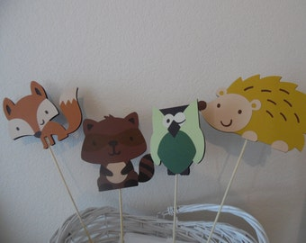Woodland Animal Baby Shower- Woodland Animal Birthday Party- Woodland Animals Party