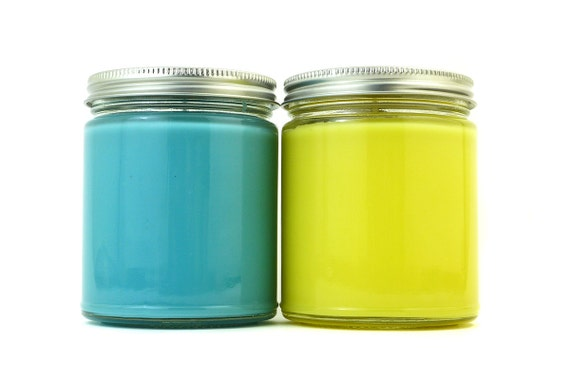 PICK 2 - 8 oz Jar Candles from Bubble & Geek - Save on shipping - Geeky Candles, geek gift