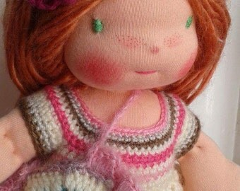 Simone, a lovely  Waldorf Doll