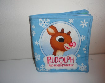 Children's Rudolph's washable Cloth Book-fun and colorful