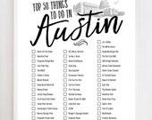 Austin Bucket List 2.0