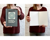 """Bookkeeping Notebook Tartuensis Classic """"Counting"""" Hardcover Blank Book"""