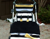 Stroller / pram blanket- this listing is for a stroller blanket with foot muff